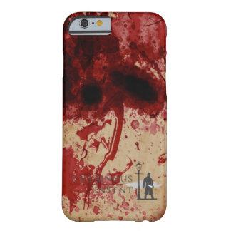 Caja del teléfono del salpicón de la sangre funda barely there iPhone 6