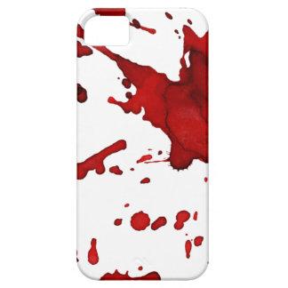 caja del teléfono del salpicón de la sangre funda para iPhone SE/5/5s