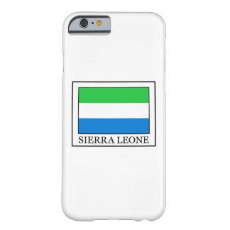 Caja del teléfono del Sierra Leone Funda Para iPhone 6 Barely There