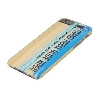 Caja del teléfono del tablero de paleta funda barely there iPhone 6