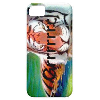 Caja del teléfono del tigre - arte original de iPhone 5 carcasas