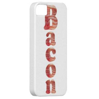 Caja del teléfono del tocino iPhone 5 fundas