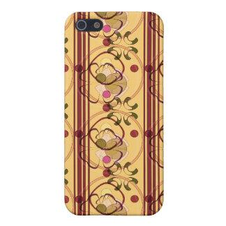 Caja del teléfono del tono de la tierra de Nouveau iPhone 5 Carcasa