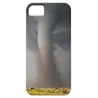 Caja del teléfono del tornado funda para iPhone SE/5/5s