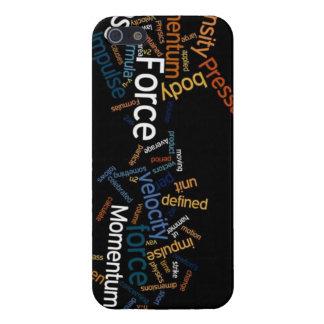 Caja del teléfono del viaje del tiempo de la físic iPhone 5 carcasa