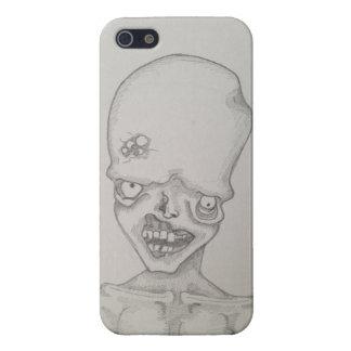 Caja del teléfono del zombi de la ampolla iPhone 5 cárcasas