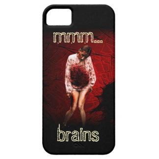 Caja del teléfono del zombi (mmm… cerebros) iPhone 5 fundas