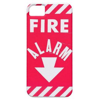 Caja del teléfono la alarma de incendio iPhone 5 carcasa