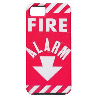 Caja del teléfono la alarma de incendio iPhone 5 Case-Mate funda