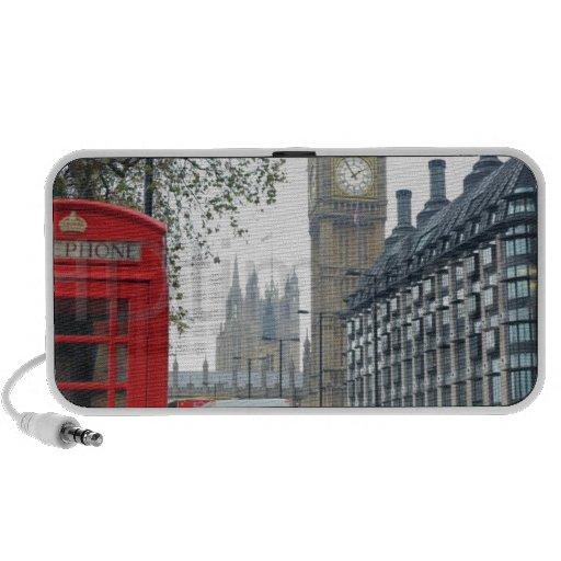 Caja del teléfono Londres Big Ben (St.K) iPhone Altavoz