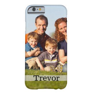 Caja del teléfono móvil de la foto de familia funda para iPhone 6 barely there