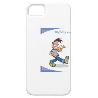 caja del teléfono móvil de los sillywillysays iPhone 5 carcasas
