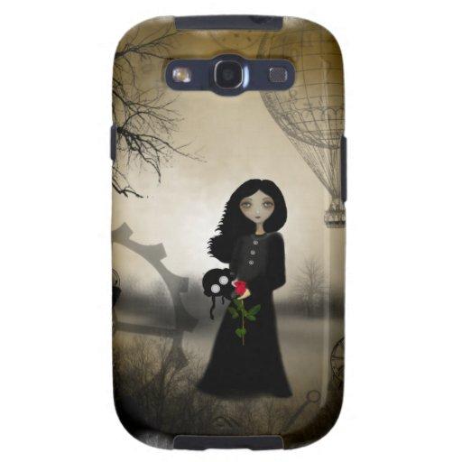 Caja del teléfono móvil del arte de Steampunk Galaxy S3 Coberturas