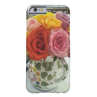 Caja del teléfono para el amante color de rosa funda barely there iPhone 6