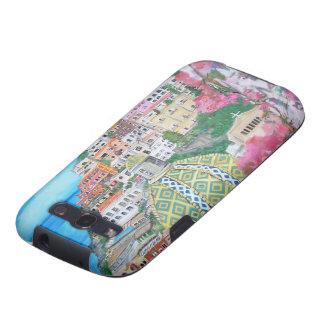 Caja del teléfono - Positano Samsung Galaxy S3 Protectores