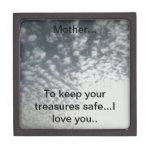 Caja del tesoro de la madre cajas de recuerdo de calidad
