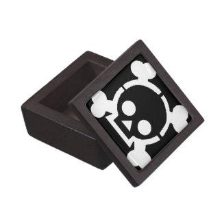 Caja del tesoro del pirata caja de recuerdo de calidad