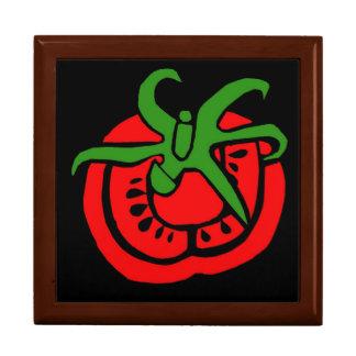 Caja del tomate caja de regalo