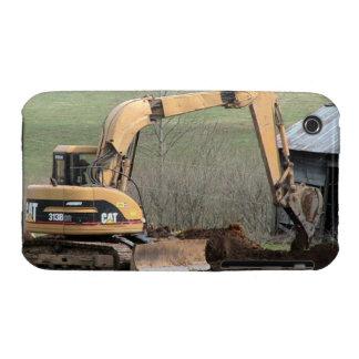 Caja del vehículo del excavador funda para iPhone 3 de Case-Mate