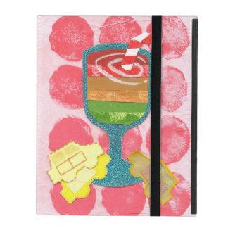 Caja del Yo-Cojín 2/3/4 del Milkshake del semáforo iPad Carcasas