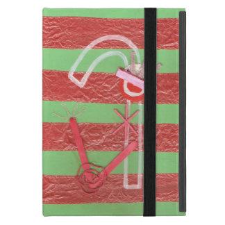 Caja del Yo-Cojín del bastón de la señora caramelo iPad Mini Carcasa