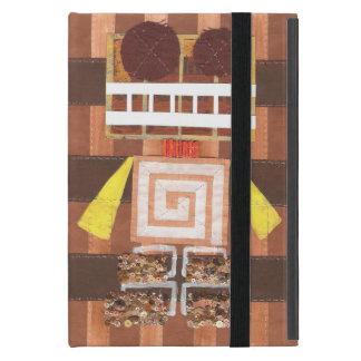 Caja del Yo-Cojín del robot del chocolate mini iPad Mini Cárcasa