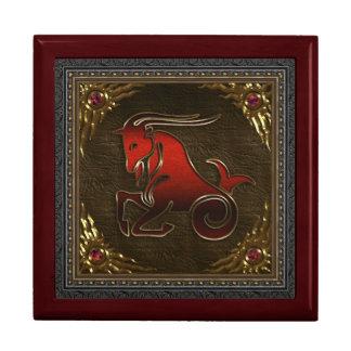 Caja del zodiaco - Capricornio Caja De Recuerdo