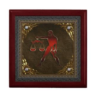 Caja del zodiaco - libra cajas de joyas