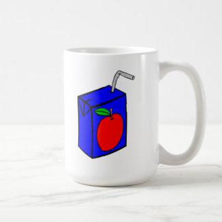 Caja del zumo de manzana taza clásica