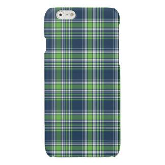 Caja deportiva azul y verde del iPhone 6 de la