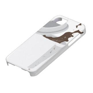 Caja derramada del iPhone 5 del café iPhone 5 Case-Mate Fundas