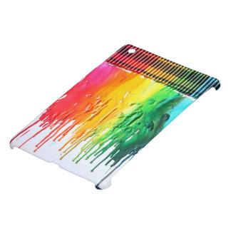 Caja derretida arco iris de IPad del arte del crey iPad Mini Cárcasas