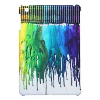 Caja derretida arco iris de IPad del arte del crey iPad Mini Cárcasa