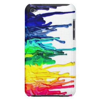 Caja derretida de IPod del creyón iPod Touch Case-Mate Cárcasa