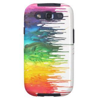 caja derretida de Samsung III del creyón Samsung Galaxy S3 Cárcasa