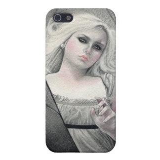 Caja despertada de la mota de Vampiress iPhone 5 Funda
