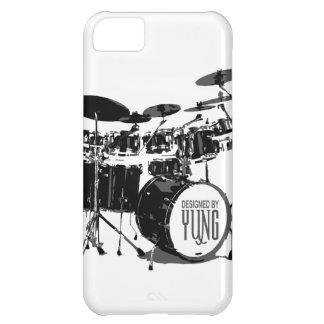 Caja determinada del teléfono del tambor funda para iPhone 5C