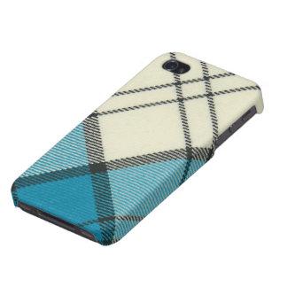 Caja diagonal de la turquesa SPECK® de Lennox iPhone 4 Cárcasa