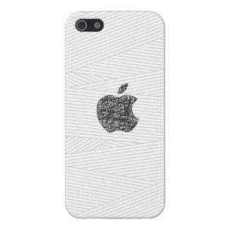 Caja dibujada mano de Apple Iphone 5 iPhone 5 Funda