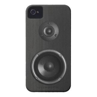 Caja divertida de la casamata de la música iPhone4 iPhone 4 Case-Mate Cárcasa