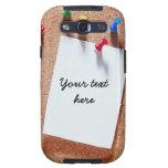 Caja divertida de la galaxia de Samsung del tablón Samsung Galaxy S3 Protector