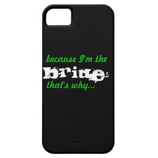 Caja divertida elegante del teléfono celular del b iPhone 5 carcasas