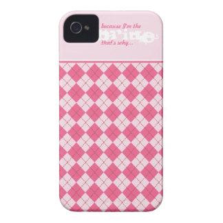 Caja divertida elegante del teléfono celular del carcasa para iPhone 4 de Case-Mate