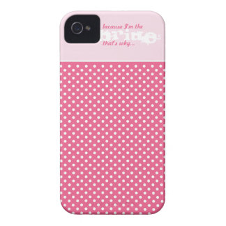 Caja divertida elegante del teléfono celular del funda para iPhone 4 de Case-Mate