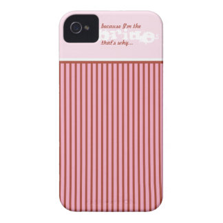 Caja divertida elegante del teléfono celular del iPhone 4 Case-Mate fundas