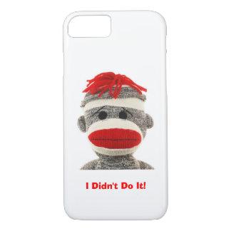 Caja divertida y linda del teléfono 5 del mono I Funda iPhone 7