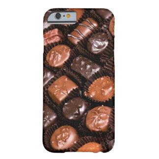 Caja dulce del placer de los amantes del chocolate funda barely there iPhone 6