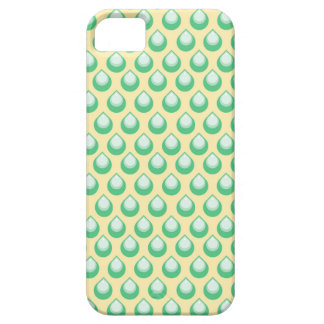 Caja dulce del teléfono de la lluvia del verano de iPhone 5 fundas