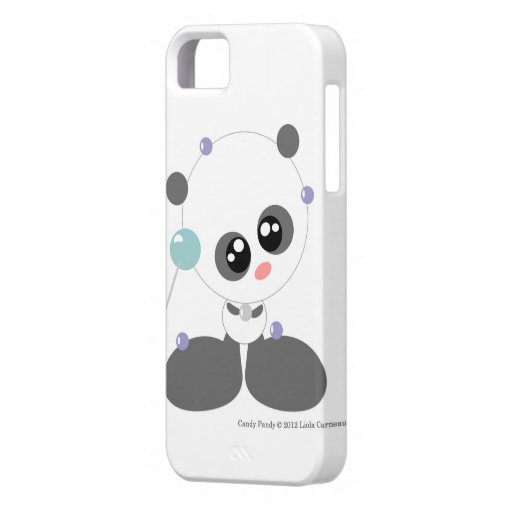 Caja dulce pandy del caramelo funda para iPhone SE/5/5s