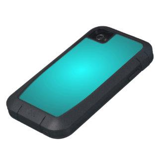 Caja dura azul metálica del iPhone 4 de Xtreme